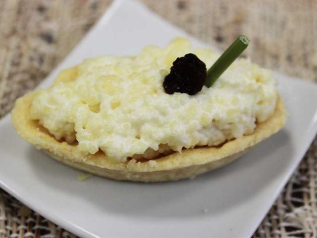 Barquete de queijo 25un
